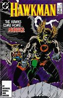 Hawkman Comic 13 Copper Age First Print 1987 Dan Mishkin Howell Garzon DC