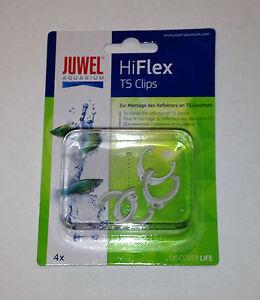 Juwel T5 Hiflex Réflecteur Clips Paquet De 4