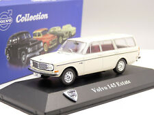 Edition Atlas Volvo 343 1979 Silber Metallic