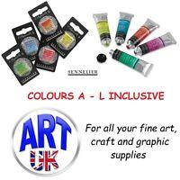 Sennelier Professional French Artists' Watercolour Paint 10ml Tubes & Half Pans