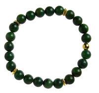 Prasem Edelstein-Armband Stretch Perlenarmband D296