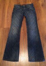 "Nfy Notify Hi Anemone Tulip 2 Women's Pants 27 X 33"" Distressed Denim Blue Jeans"