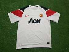 Manchester United Football Shirt XL 2010 2011 Nike Trikot Soccer jersey Aon