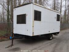 New ListingWells Cargo F01611 Mobile Office Trailer Jobshack Storage bidadoo -Repair
