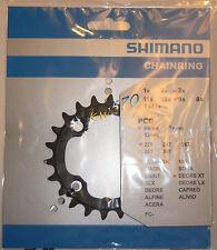 XT - Corona/Chain ring originale Shimano 22T 4 fori x 64mm FC-M770/M771/M970-NEW