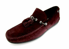 Salvatore Ferragamo Amos 3 Suede Loafers Shoes 8 EU 41 Made in Italy