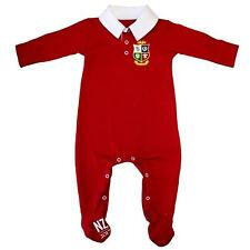 British and Irish Lions Infants Colour Blocked Sleepsuit Official Product