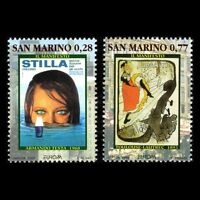 San Marino 2003 - Eurostamps Poster Art Fine Art - Sc 1562/3 MNH