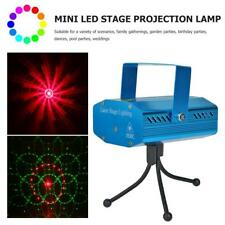 LED Stage Projector Lamp Sound Control Party KTV Decor Laser Light EU Plug
