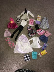 Barbie And Other Small Dolls Clothes Bundle