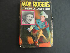 Roy Rogers and the Raiders Of Sawtooth Ridge (HC, Whitman Publishing)
