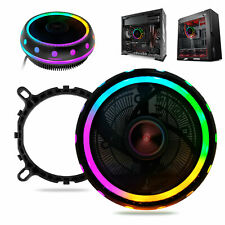 RGB LED CPU Cooler Fan Heatsink for Intel 1156/1155/1151/1150 /775 AMD AM4/AM3+