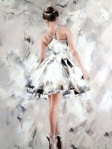 Ballerina Dance Full drill 5D Diamond Painting Embroidery DIY Handmade N6461