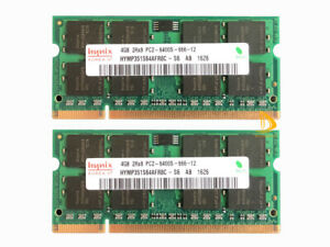 Lot Hynix 8GB 4GB 2GB 2RX8 DDR2 800MHz PC2-6400S SODIMM Laptop RAM Memory 200PIN