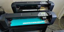 Summa D60R Schneideplotter mit OPOS und Ständer.