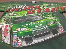 VTG NASCAR #88 Dale Earnhardt Jr Amp Energy Racing All Over Print T Shirt Medium