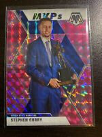 2019-20 PANINI MOSAIC PINK CAMO Stephen Curry MVP!  #299  MINT 💎SP!
