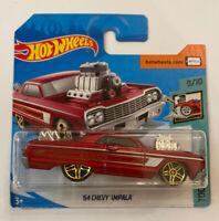 2020 Hotwheels 1964 64 Chevy Impala Red Mint! MOC!