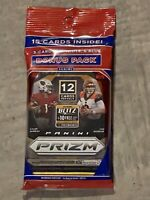 2020 Panini Prizm NFL Football Cello Fat Pack Factory Sealed Burrow Herbert Tua