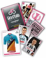 GIRO 101 PANINI 2018SET COMPLETO FIGURINE E CARDS