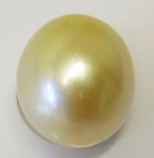 AUSTRALIAN SOUTH SEA 15.4mm!!  PEARL 100% UNTREATED UNDRILLED +CERT AVAILABLE
