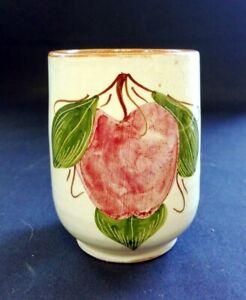 VTG '74 Dizayn Pottery Cyprus Small Vase In Fruit Pattern   FREE Delivery UK*
