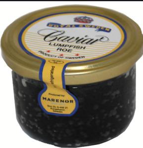 Royal Sweden  JAR, Caviar CAPELIN ROE, 3.5oz/100g  !! US SELERR !!
