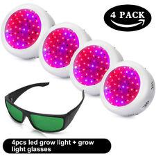 150W UFO LED Vollspektrum Pflanzenlicht Pflanzenleuchte Grow Wuch Wachstumslampe