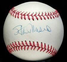 1990s STAN MUSIAL & JOE TORRE Signed Cardinals Team Baseball hof onl auto vtg