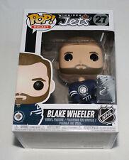 Winnipeg Jets NHL Blake Wheeler Funko Hockey #27 Pop! Vinyl Figure New