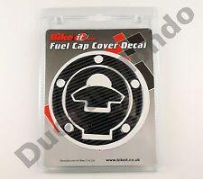 Carbon Fibre look fuel cap cover laminate decal for Ducati Monster S2R 800
