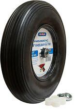 "HI-RUN Wheelbarrow Tire/Wheel Assembly 8"" Pneumatic with universal bearing kit"