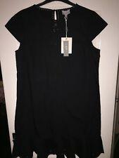 Black summer shift dress - Jigsaw SZ16. RRP £135