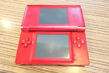 DS Lite rojo. Gameboy, Nintendo. scharnierbruch display arriba Def. (29) <, defectuoso