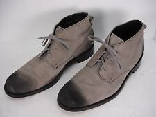 COLE HAAN GARY SUEDE BURNISHED TOE & HEELS CHUKKA ANKLE BOOTS SHOES MEN'S 9.5 M