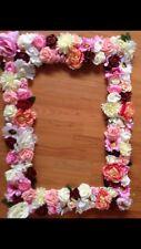 Flower Selfie Frame~wedding-mehndi~party~gift ~Paint Cones