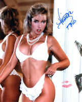 VICTORIA PARIS SIGNED 8x10 PHOTO + LIP PRINT XXX PORN ADULT MOVIE BECKETT BAS