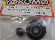 Nouveau YOKOMO MR-4 TC SD ring gear / drive gear set pour différentiel sd-503 (B)