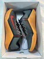 Nike Metcon 6 By You Custom Training Shoe 'Smoke Grey Red Gum' sz 9 (DA2894-991)