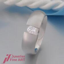 Christian Bauer - Spannring - Solitär-Ring mit 1 Brillant 0,25ct - 950 Platin