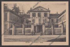 MILANO ARLUNO 03 MUNICIPIO - SCUOLE Cartolina viaggiata 1947