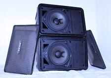 Pair Vintage Bose 101 Music Monitor Stereo Speakers