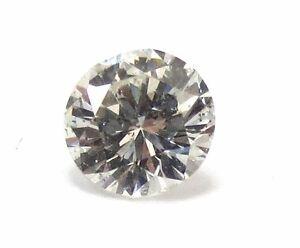 0.36 Carato Naturale I1 G Colore GIA Certificato Brillante Taglio Diamante