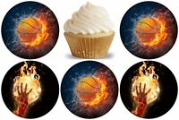 Basketball Eßbar Tortenaufleger Muffinaufleger Party Deko Fototorte dvd neu
