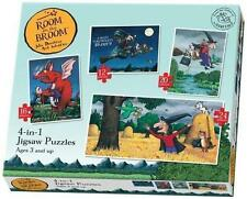 Room on The Broom 4 in 1 Jigsaw Puzzle Age 3