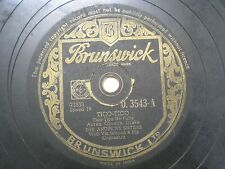 """THE ANDREW SISTERS G 3543 INDIA INDIAN RARE 78 RPM RECORD 10"""" BLACK VG-"""