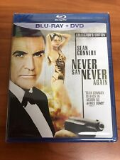 Never Say Never Again (Blu-ray/DVD, 2010, 2-Disc Set)