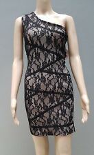 BLACK SWALLOW Bodycon Dress Sz M BNWT Fitted Stretch Party Cocktail Designer