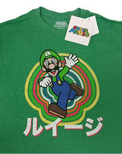 NEW Super Mario Luigi Colors Men's Tee T-Shirt YMSM110893 US Seller