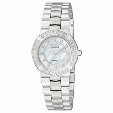 Womens Citizen Eco-Drive Serano Sport Diamond Accented Watch EP5830-56D